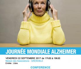 Journée mondiale Alzheimer – Conférence d'UNA Isère à Grenoble
